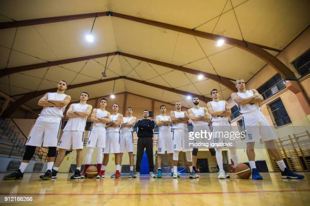strong basketball team - tall person stock pictures, royalty-free photos & images