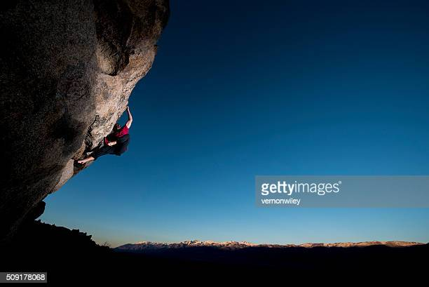 strong climber - free climbing stock pictures, royalty-free photos & images