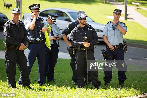 A strong contingent of Police attended the rally and kept video surveillance Rally in Sydney to commemorate the 12th anniversary of the death of...