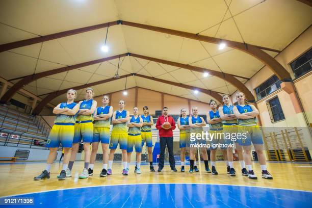 Filles fortes en basket-ball