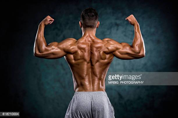 Strong Muscular Back