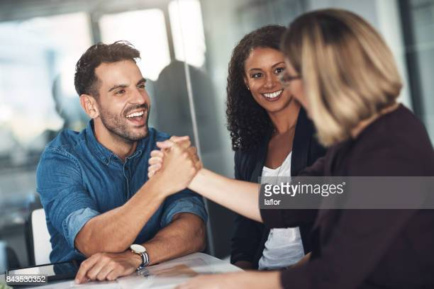 strong partners make a strong business relationship - truth or dare stock pictures, royalty-free photos & images