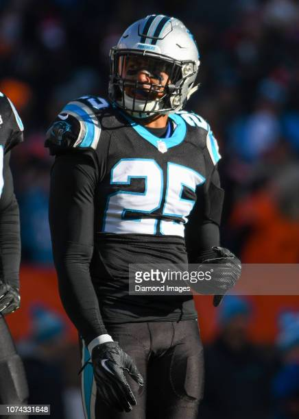 Strong safety Eric Reid of the Carolina Panthers on the field in the second quarter a game against the Cleveland Browns on December 9 2018 at...