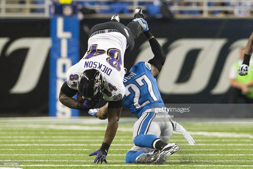 Baltimore Ravens v Detroit Lions : News Photo