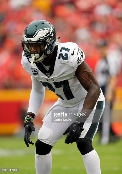 Strong safety Malcolm Jenkins of the Philadelphia Eagles in action during the game against the Kansas City Chiefs at Arrowhead Stadium on September...