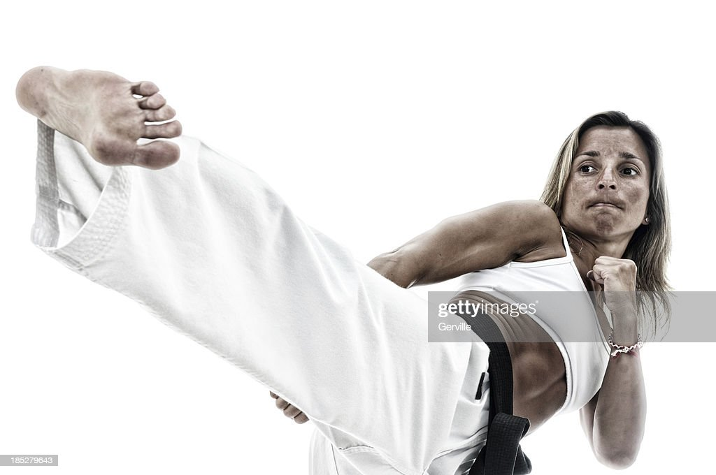 Strong Tae Kwon Do : Stock Photo