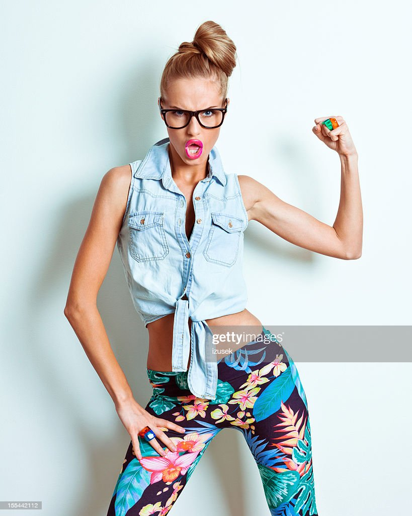 Strong woman : Stock Photo