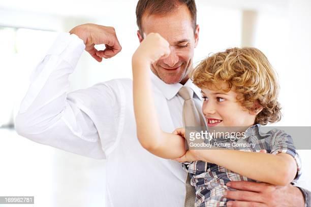 Stärker als Dad!