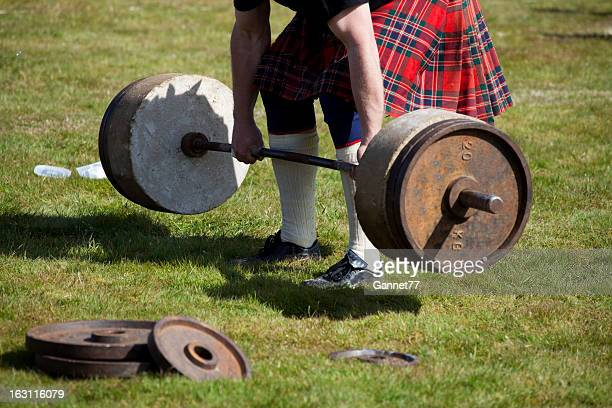 Strongman Challenge at a Scottish Highland Games Event