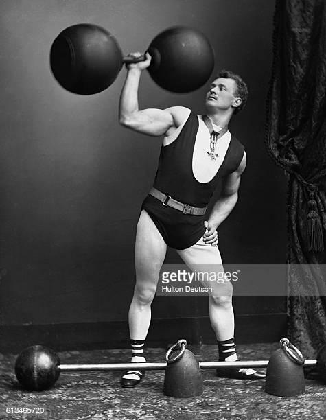 Strongman Eugene Sandow