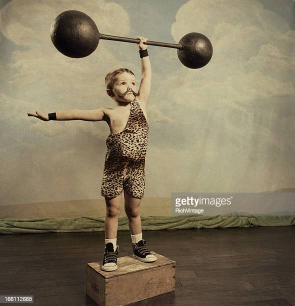 strongman - circus stock pictures, royalty-free photos & images