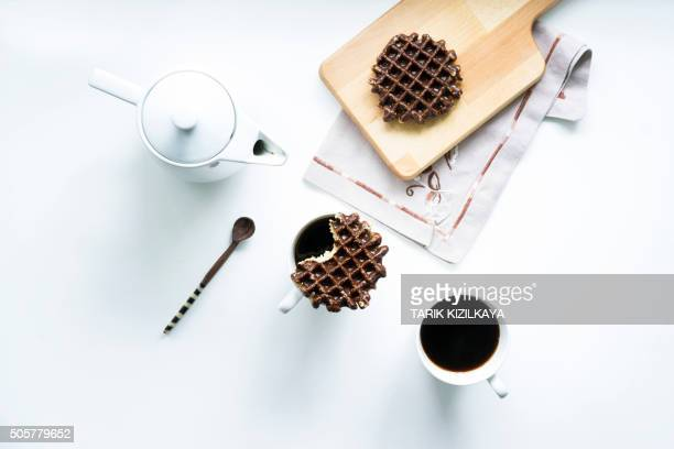 Stroopwafels and coffee