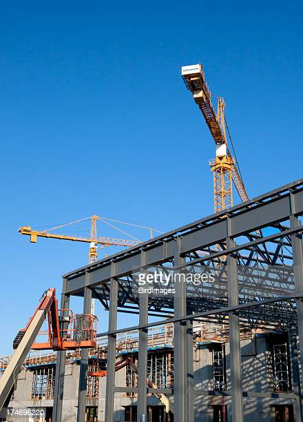 Structural Steel Construction Site