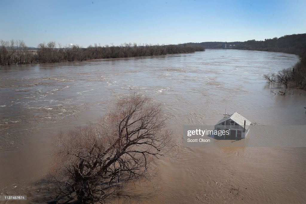 Flooding Continues To Cause Devastation Across Midwest : News Photo