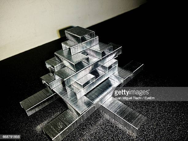 Structure Made Of Stapler Pins