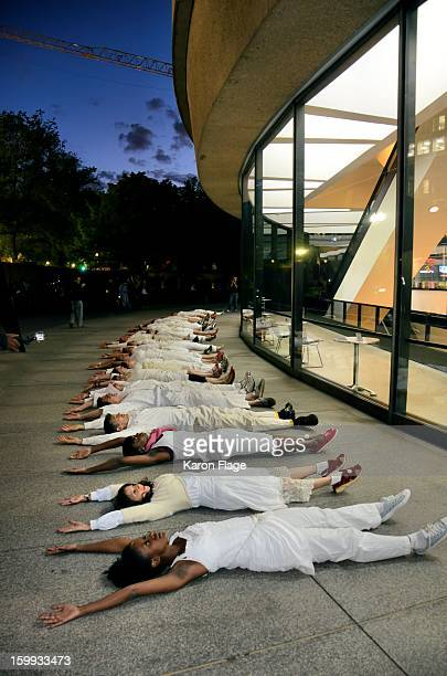 CONTENT] Structured improvisational dance by Simone Jacobson and Holly Bass to accompany Doug Aitken's Song 1 installation at the Smithsonian...
