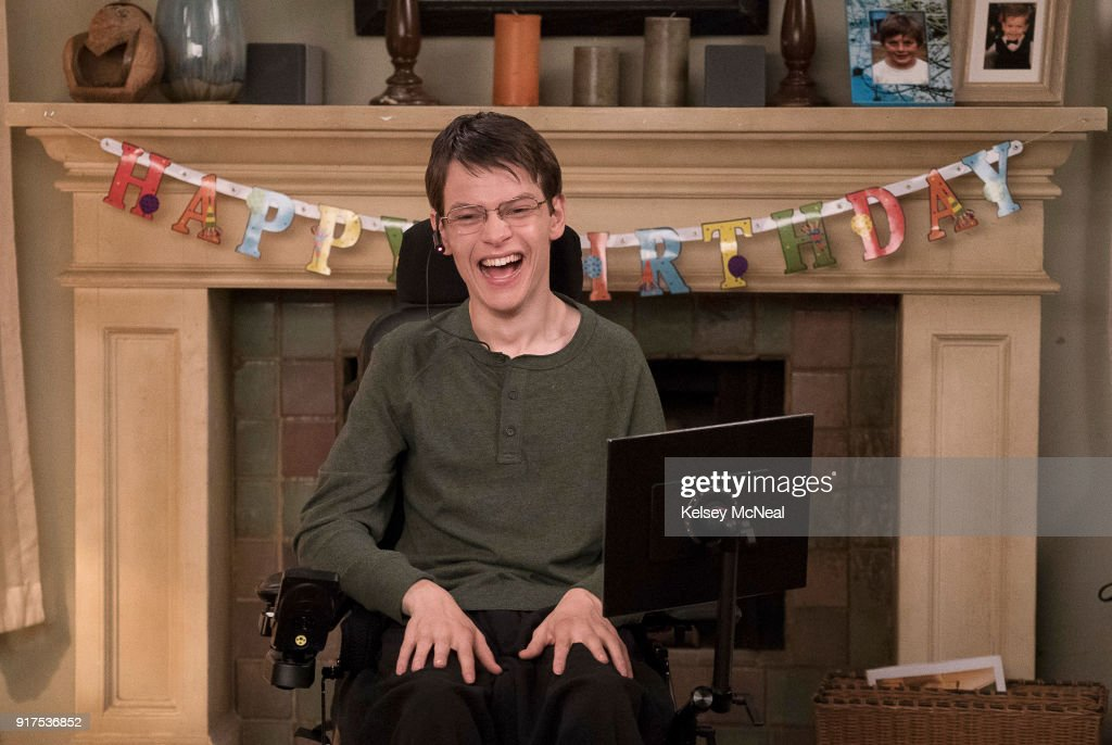 SPEECHLESS - 'E-I-- EIGHTEEN' - JJ struggles with not being treated like an adult on his 18th birthday. He storms out of his own party but soon learns a valuable lesson from Kenneth. Meanwhile, an exchange student moves in with Taylor, so Ray tries to make Taylor jealous with some of his father's old moves but the plan backfires. And Dylan is recruited to be on the school's wrestling team, on 'Speechless,' WEDNESDAY, FEB. 28 (8:30-9:00 p.m. EST), on The ABC Television Network. FOWLER