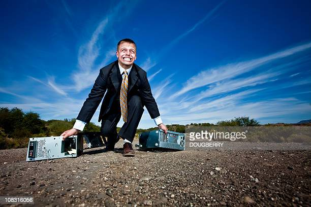 struggling business man - struggle stock pictures, royalty-free photos & images