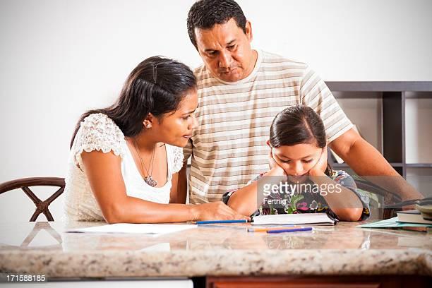 Schwierigkeiten mit Hausaufgaben