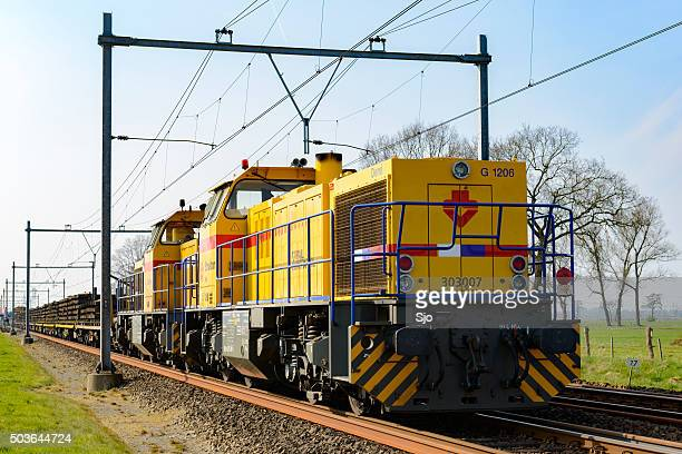 Strukton freight train locomotive