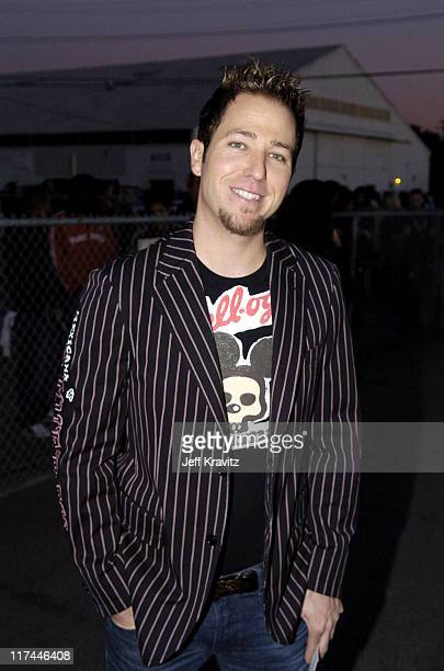 DJ Stryker during Spike TV's 2nd Annual Video Game Awards 2004 Red Carpet at Barker Hangar in Santa Monica California United States