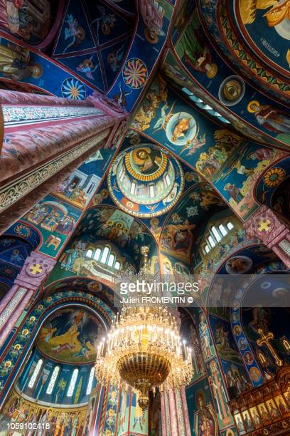 sts. cyril and methodius church, ljubljana - ljubljana stock pictures, royalty-free photos & images