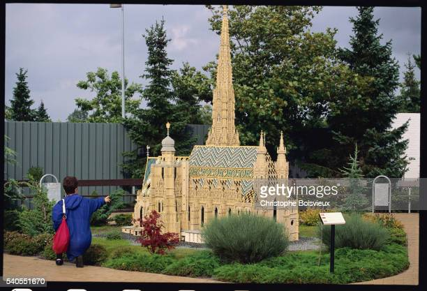 St.Stephen's Church Recreated from Legos