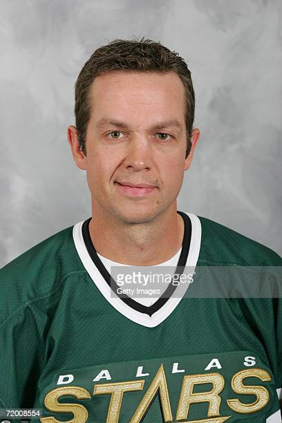 Stu Barnes of the Dallas Stars poses for a portrait on September 2006 at the Dr Pepper Star Center in Frisco Texas