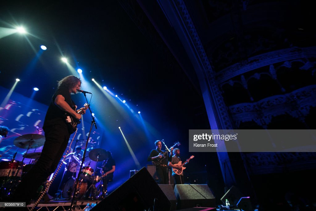 King Gizzard & The Lizard Wizard Perform At Olympia Theatre, Dublin