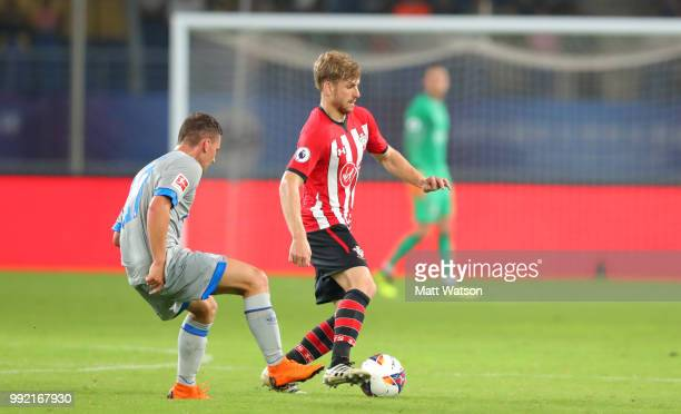 Stuart Armstrong of Southampton in action during the pre season 2018 Clubs Super Cup match between Southampton FC and FC Schalke at Kunshan Sports...