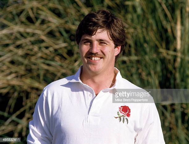 Stuart Barnes of Bath and England during the England Rugby Union tour of New Zealand circa 1985
