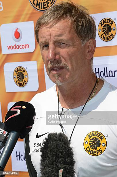 Stuart Baxter during the Kaizer Chiefs media open day at Naturena on August 28, 2014 in Johannesburg, South Africa.