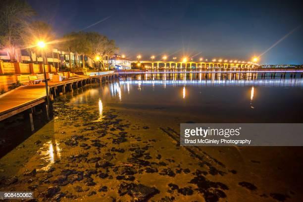 stuart boardwalk - stuart florida stock pictures, royalty-free photos & images