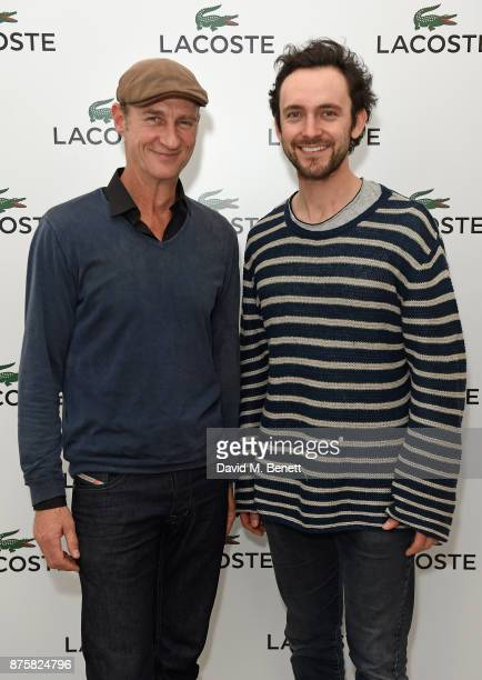 Stuart Bowman and George Blagden attend Lacoste VIP Lounge during 2017 ATP World Tour Semi Finals at The O2 Arena on November 18 2017 in London...