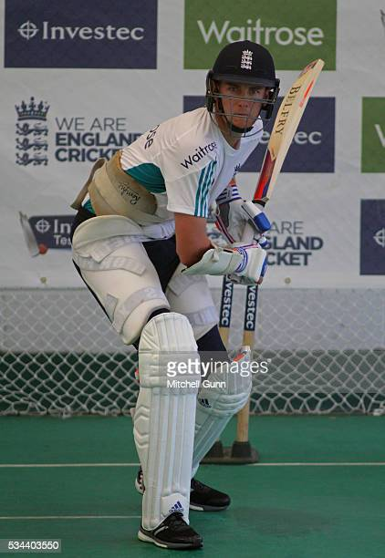 Stuart Broad during England Nets session ahead of the 2nd Investec Test match between England and Sri Lanka at Emirates Durham ICG on May 26 2016 in...