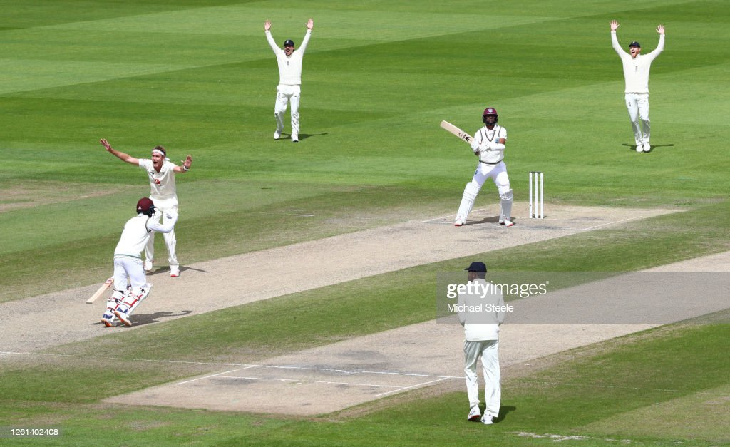 England v West Indies: Day 5 - Third Test #RaiseTheBat Series : News Photo