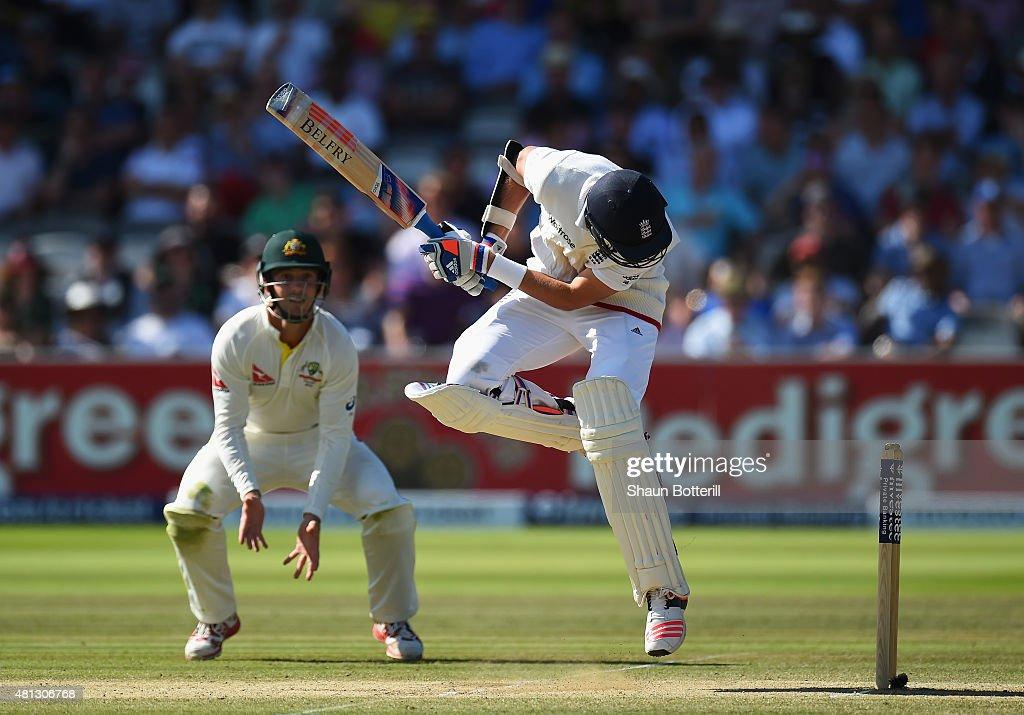 England v Australia: 2nd Investec Ashes Test - Day Four : News Photo