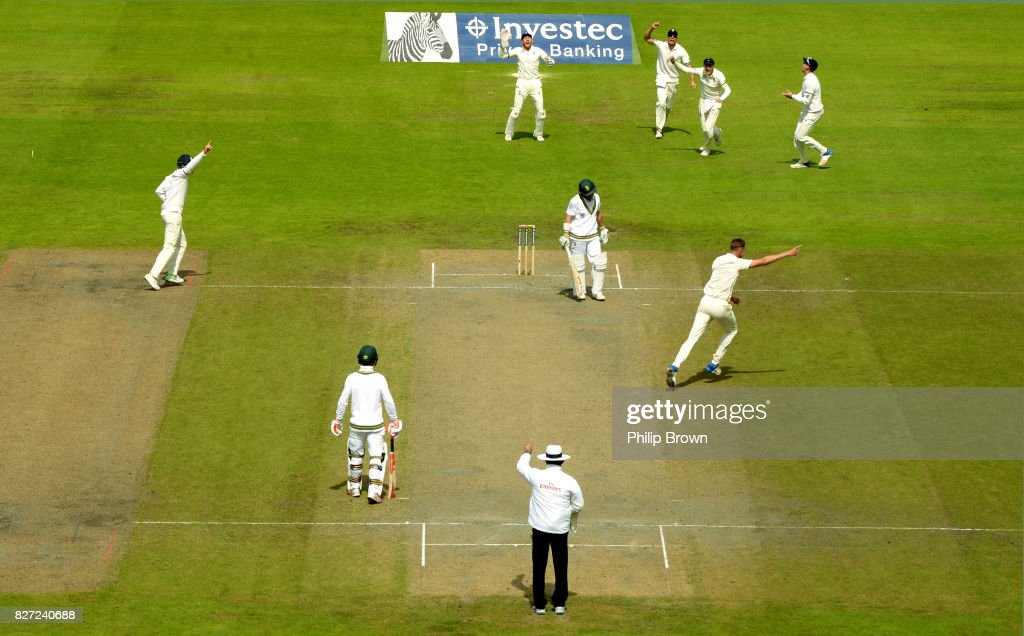England v South Africa - 4th Investec Test: Day Four : News Photo