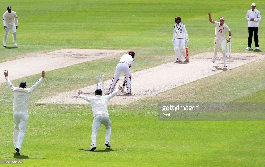 England v West Indies: Day 5 - Third Test #RaiseTheBat Series : News Photo