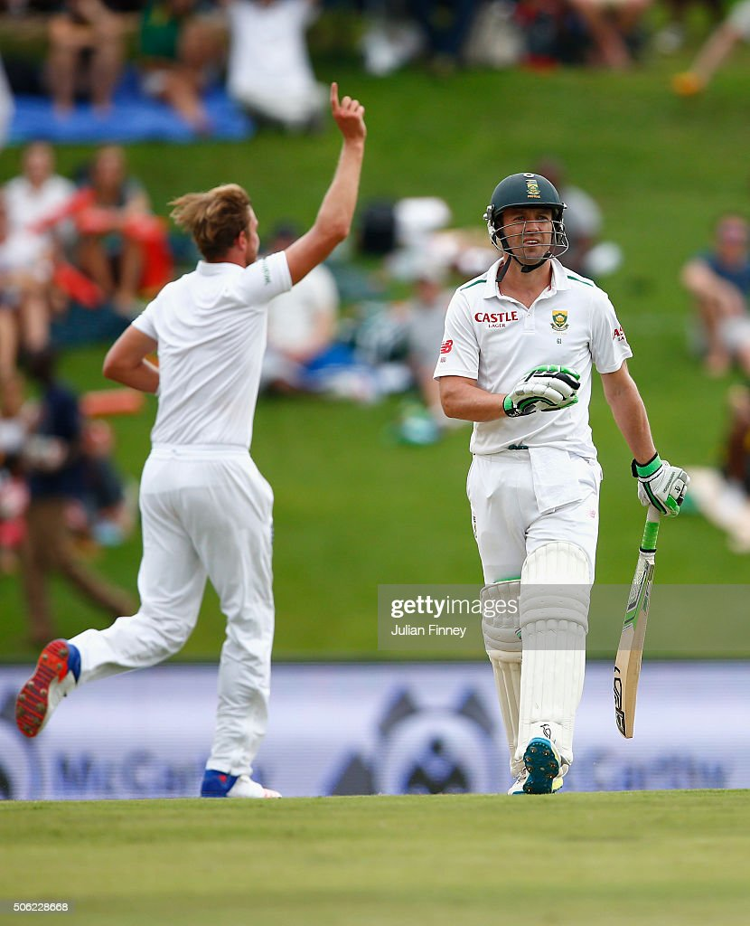 South Africa v England - Fourth Test: Day One