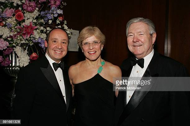 Stuart Brotman Dr Mary Lake Polan and Frank Bennack attend The Museum of Television and Radio Honors Merv Griffin At It's Annual New York Gala at...