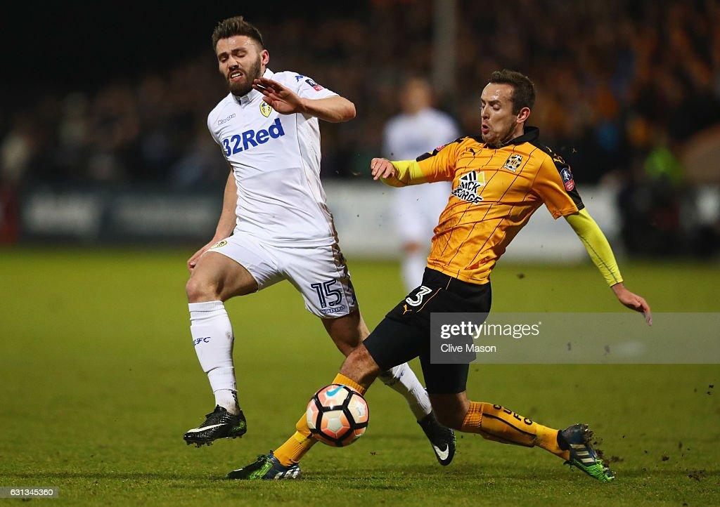 Cambridge United v Leeds United - The Emirates FA Cup Third Round : News Photo