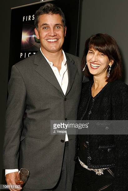 Stuart Ford and Ruth Vitale during 31st Annual Toronto International Film Festival - First Look Pictures Party at Gardiner Museum in Toronto,...