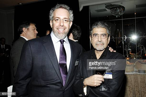 Stuart Goldfarb and Sonny Mehta attend 2008 BOOKSPAN LITERARY Celebration at The Pierre Hotel on November 17 2008 in New York City