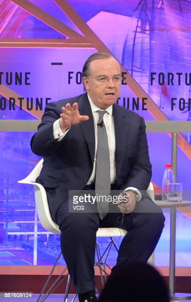 Stuart Gulliver attends the 2017 Fortune Global Forum on December 6 2017 in Guangzhou Guangdong Province of China The 2017 Fortune Global Forum is...
