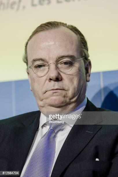 Stuart Gulliver chief executive officer of HSBC Holdings Plc pauses during the Europlace forum in Paris France on Tuesday July 11 2017 Leaders of big...