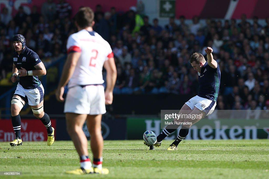 Scotland v USA - Group B: Rugby World Cup 2015 : News Photo