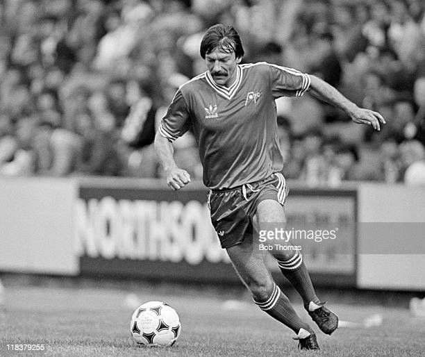 Stuart Kennedy in action for Aberdeen at Pittodrie Stadium in Aberdeen August 1981