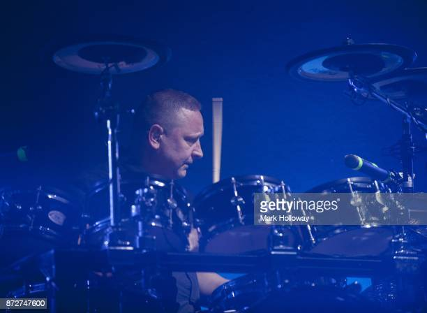 Stuart Kershaw of OMD performs at O2 Guildhall on November 10 2017 in Southampton England