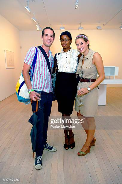 """Stuart Krimslo, Jessica Johnson and Morgan Hitzig attend GENERATION OBAMA and HARRY STENDHAL host """"ART CRAWL for OBAMA"""" After Party at Maya Stendhal..."""
